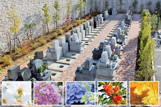 花や緑の植栽